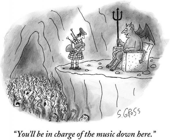 What music is being played in Hell?