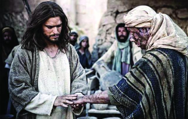 Most of Jesus' ministry was spent healing people