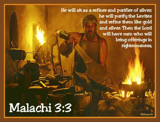 Will we see the Refiner's fire this Advent?