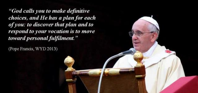 Pope Francis understands it