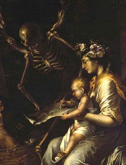 S.Rosa L'umana Fragilita 1656