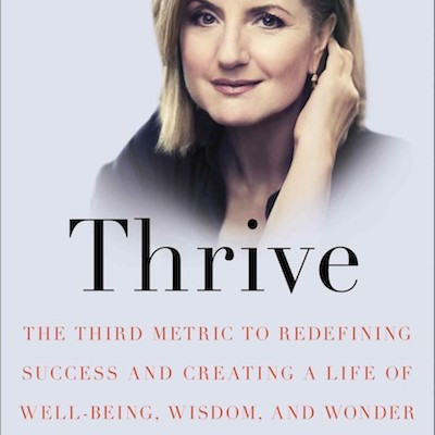 A. Huffington also has a book out about our need for sleep