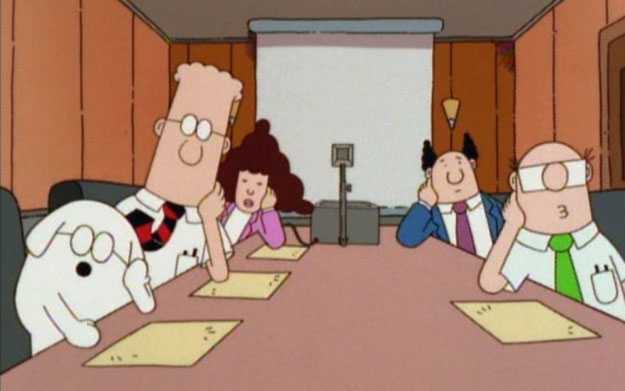 Church life isn't meant to look like Dilbert's meetings