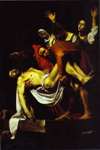 "Caravaggio ""The Entombment"""