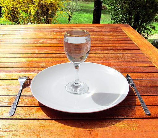 Set a table to meet with God