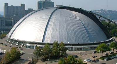 former Mellon Arena - home of Pittsburgh Hockey 1961-2011