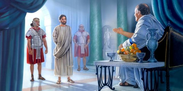 Pilate is skeptical and pragmatic, so are our neighbors