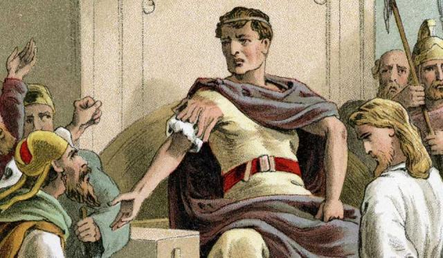 Pilate isn't the only complicated person in this story