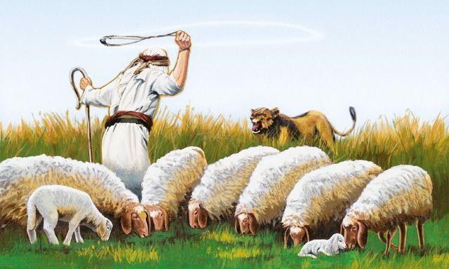 David prepared for leadership by loving his sheep