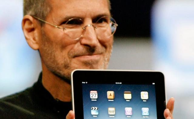 The iPad arose out of Steve's vision for a new relationship between man and machine