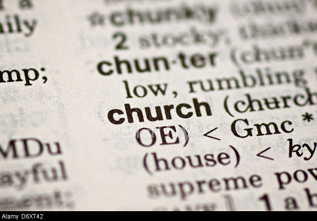 Church isn't defined by building, clergy, or theology