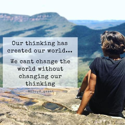 What if our thought creates our world?