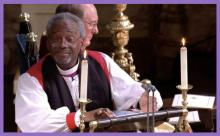 Bishop Curry preached at royal wedding