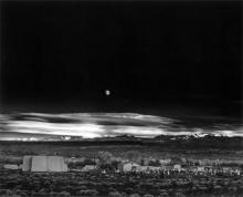 Moonrise over Hernandez by Ansel Adams, 1941