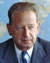 UN Sec Gen Dag Hammarskjold got IT