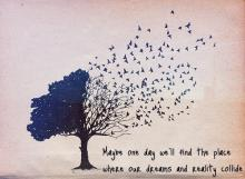 Discernment deals with both dreams and reality