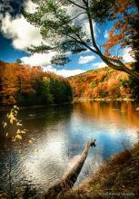 Clarion River in the Fall