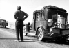 The great depression put many Americans in a God-forsaken place